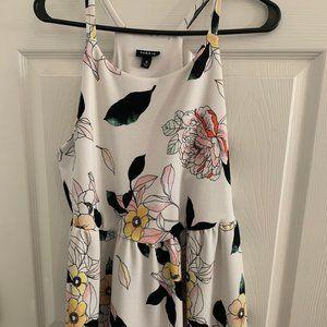 White Floral Torrid Dress